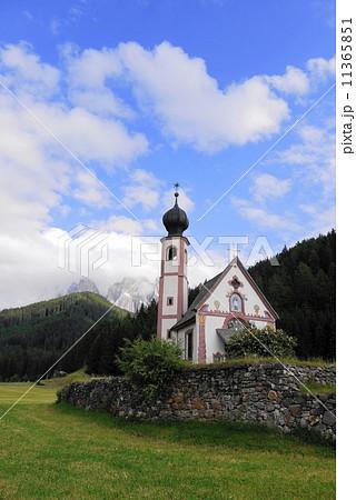 サンタ・マッダレーナ村 Santa Maddalena ザンクト・ヨハン教会 St. Johann 11365851