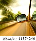 速い 高速道路 ボケの写真 11374240
