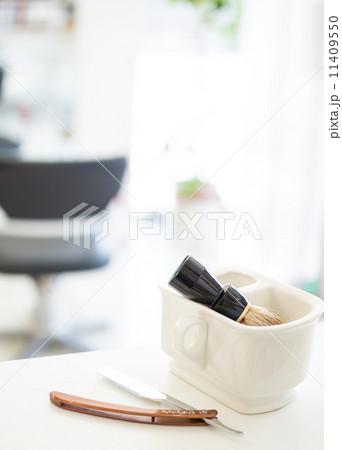理容室 美容室イメージ シェービングの写真素材 [11409550] - PIXTA