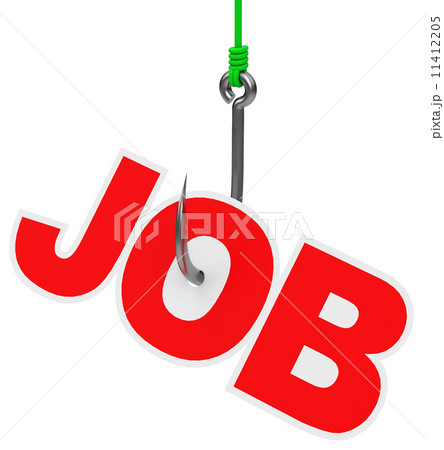 Fishing for a job 11412205 pixta for Pure fishing jobs