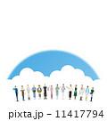 働く人々 働く人 職種のイラスト 11417794