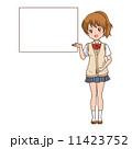 女の子 案内 11423752