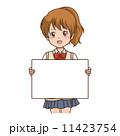 女の子 案内 11423754