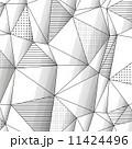 ジオメトリック 幾何学的 背景のイラスト 11424496