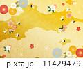 背景 背景素材 和柄のイラスト 11429479