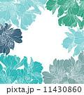 花 アルストロメリア フレームのイラスト 11430860