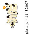 未年年賀状 11432007