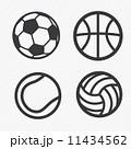 ball icons set  11434562