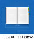 ノート 帳面 ブックのイラスト 11434658