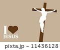 信仰 キリスト クリスチャンのイラスト 11436128
