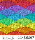 ジオメトリック 幾何学的 装飾のイラスト 11436897