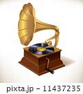 蓄音機 音楽 ミュージカルのイラスト 11437235