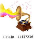 蓄音機 音声 レトロのイラスト 11437236