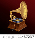 蓄音機 レトロ レコードのイラスト 11437237
