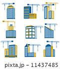 セット 組み合わせ デコラティブのイラスト 11437485