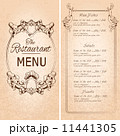 Restaurant menu template 11441305
