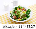 野菜サラダ グリーンサラダ 食べ物の写真 11445327
