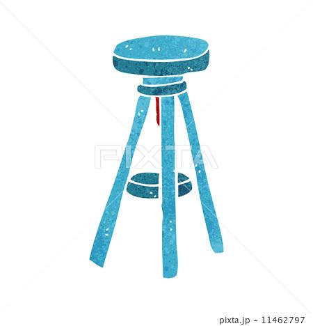 cartoon stoolのイラスト素材 [11462797] - PIXTA