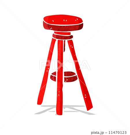 cartoon stoolのイラスト素材 [11470123] - PIXTA