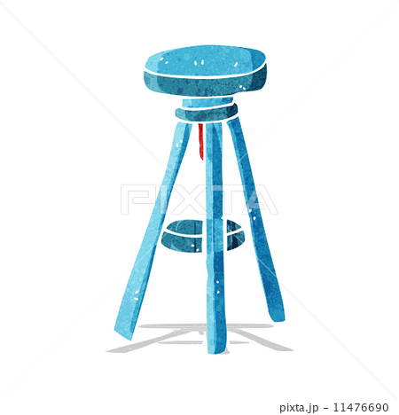 cartoon stoolのイラスト素材 [11476690] - PIXTA