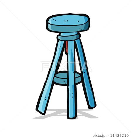 cartoon stoolのイラスト素材 [11482210] - PIXTA