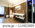 Modern bathroom luxury interior 11482889