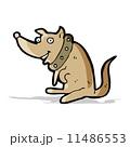 首輪 キャラクター 文字のイラスト 11486553