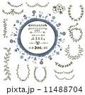 げっけいじゅ ローレル 花柄のイラスト 11488704
