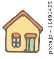 ベクター 住宅 家のイラスト 11491425