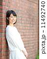 ボブ 笑顔 女性の写真 11492740