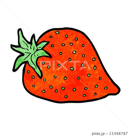 cartoon strawberryのイラスト素材 [11498787] - PIXTA