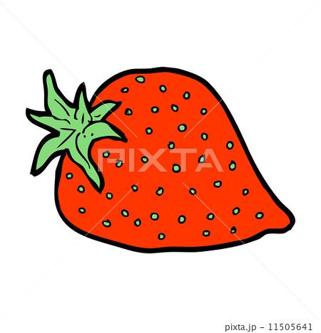 cartoon strawberryのイラスト素材 [11505641] - PIXTA