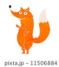 動物 きつね キツネのイラスト 11506884