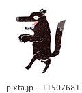 おおかみ キャラクター 文字のイラスト 11507681