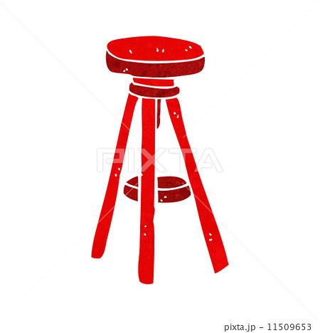 cartoon stoolのイラスト素材 [11509653] - PIXTA