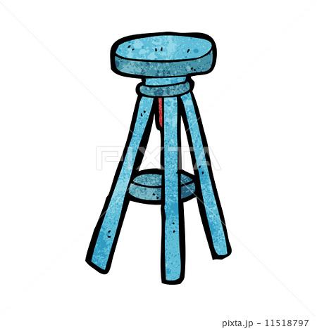cartoon stoolのイラスト素材 [11518797] - PIXTA