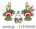 門松 鏡餅 11530448
