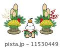 門松 鏡餅 11530449