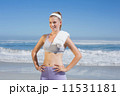 タオル スポーティー ビーチの写真 11531181
