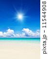 日 ブルー 暑いの写真 11544908