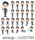 学ラン ベクター 男性のイラスト 11557703