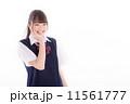 制服 女子高生 人物の写真 11561777