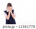 制服 女子高生 人物の写真 11561778