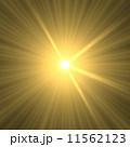 光 放射 放射状のイラスト 11562123