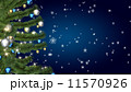Christmas tree on blue background 11570926