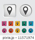 方角 記号 指示棒のイラスト 11571974