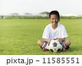 サッカー少年 11585551