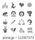 Circus Icons Set 11587373