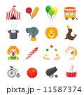 Circus Icons Set 11587374