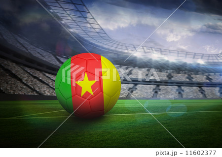 Football in cameroon coloursのイラスト素材 [11602377] - PIXTA